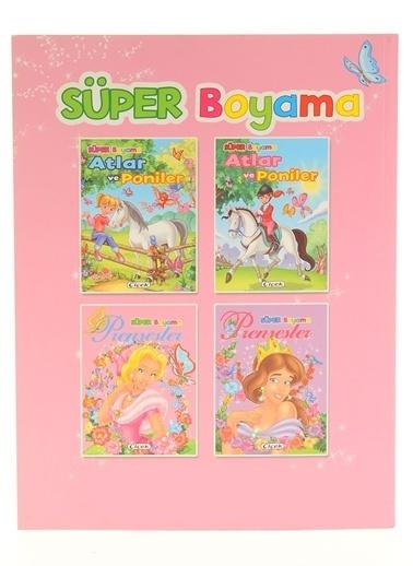 Çiçek Yayıncılık Süper Boyama-Prensesler-1 Renkli